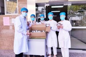【前哨快讯】市中医医院用温情援助前方抗疫一批汤剂暖透市中心人民医院一线将士